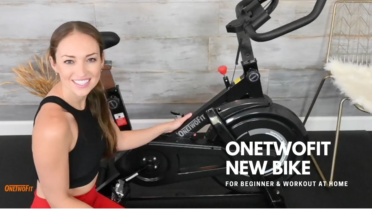 Exercise Bike For Beginner & Workout at Home OT198 | ONETWOFIT