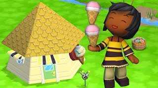 My Sims - SORVETERIA DA ABELHINHA (Vida de Construtora)