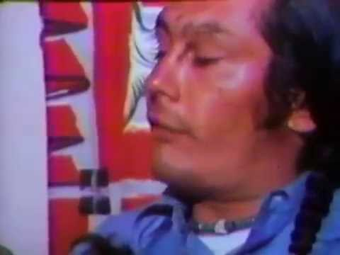 Russell Means  during Wounded Knee Occupation, 1973 Part 2