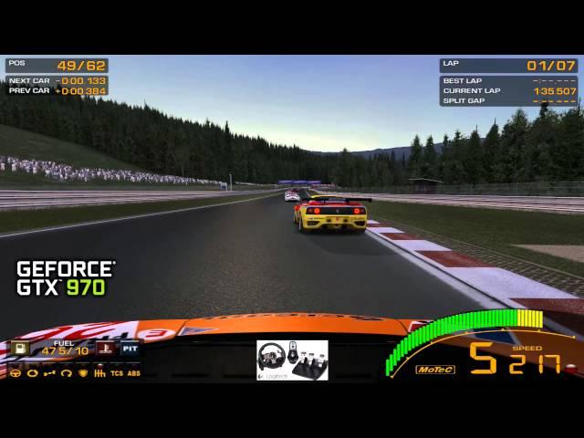 GTR2 on Geforce GTX 970