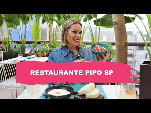 PIPO SP  FELIPE BRONZE  VISITA A RESTAURANTES  Go Deb