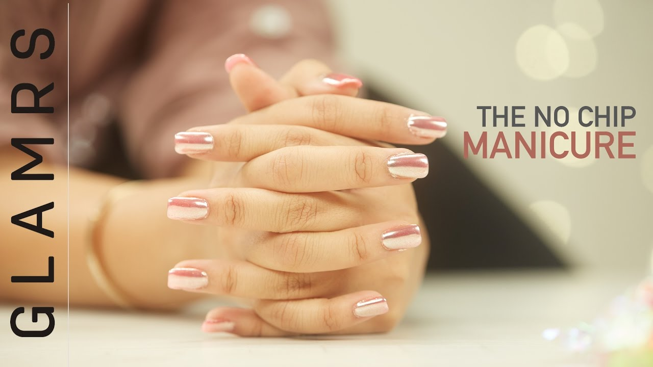 No chip chrome nails long lasting manicure tutorial youtube no chip chrome nails long lasting manicure tutorial solutioingenieria Images
