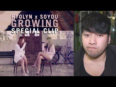 """Hyolyn & SoYou """"Growing"""" Piano Cover Reaction"""