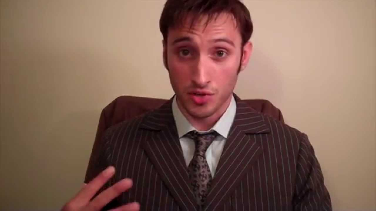 sc 1 st  YouTube & Tenth Doctor Cosplay: Props Mannerisms u0026 More! - YouTube