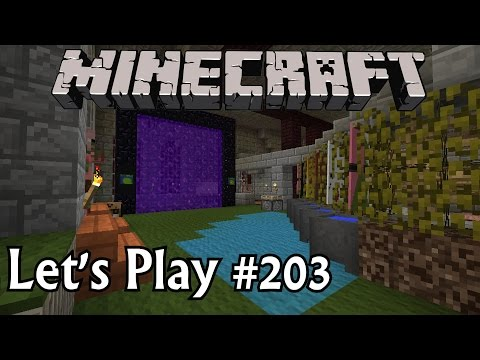Minecraft Let's Play Ep. 203- Castle Decor