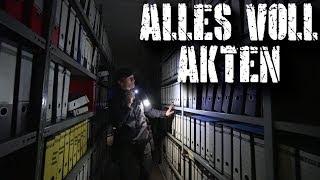 DATENSCHUTZ ADIEU! | GANZEN RAUM VOLLER AKTEN GEFUNDEN | verlassene BACKWARENFABRIK