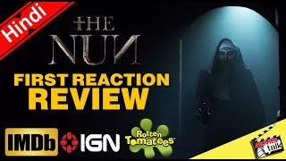 THE NUN: Movie First Reaction Review [Explained In Hindi]