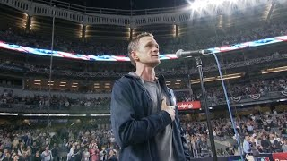 CLE@NYY Gm3: Neil Patrick Harris performs anthem