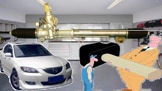 Рулевая рейка ГУР  ремонт или новую? mazda 3     steering rack repair or new