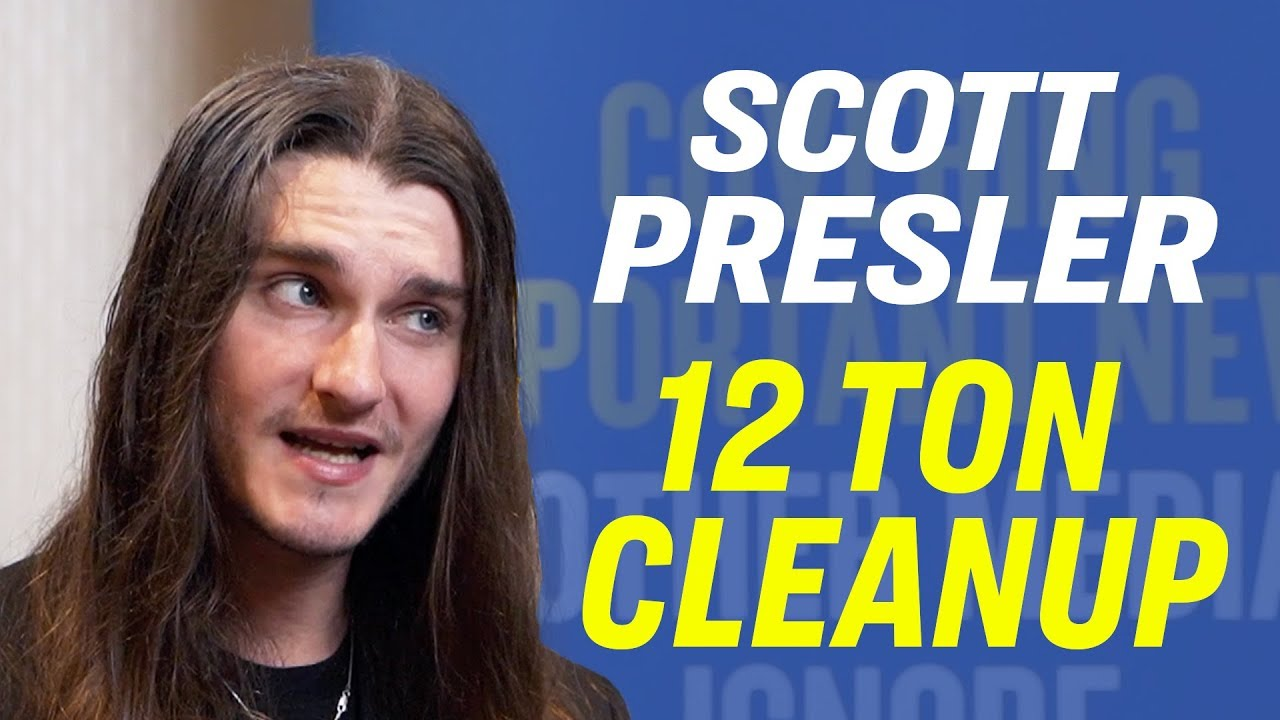 """American Thought Leaders How Scott Presler Inspired a 12-Ton Trash Cleanup For the """"Forgotten People"""