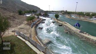 أطول نهر صناعي في العالم.. وسط رمال الإمارات