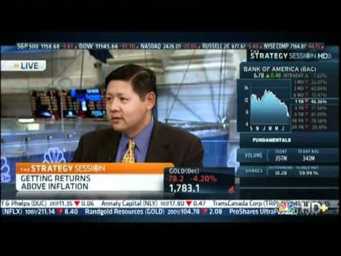 Wayne Lin   'Real Return Strategy  includes REIT's, Equities, Commodities   Bal'd Portfolio with Positive Beta to Inflation'