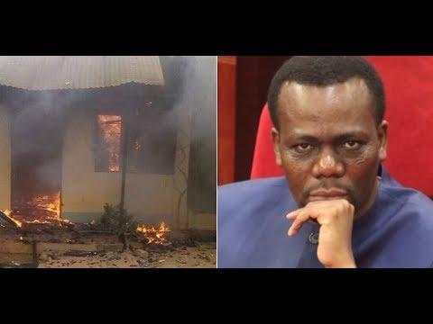 BREAKING: Nyumba ya Zitto Kabwe imeteketea kwa moto