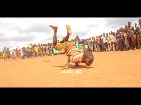 Young African Acrobatic