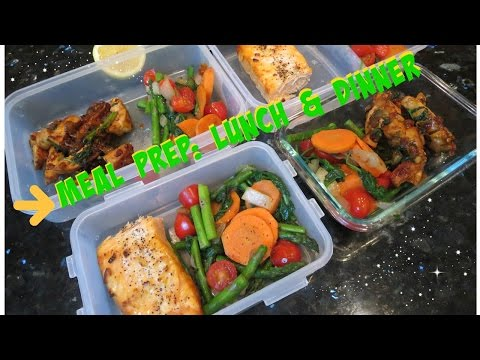 Meal Prepping for weight loss: Lunch & dinner