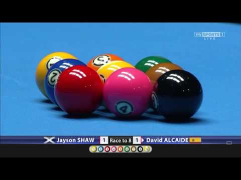 Jayson Shaw v David Alcaide FINAL | World Pool Masters 2017