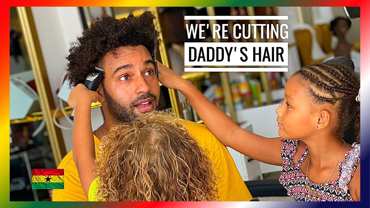 CUTTING AFRO HAIR 😱 GHANA 🇬🇭 Vlog #47 (2020)
