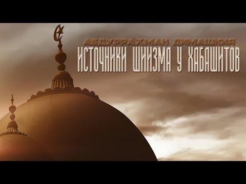 Абдуррахман Димашкия - Источники шиизма у хабашитов