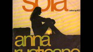 ANNA RUSTICANO - Sola (1976)