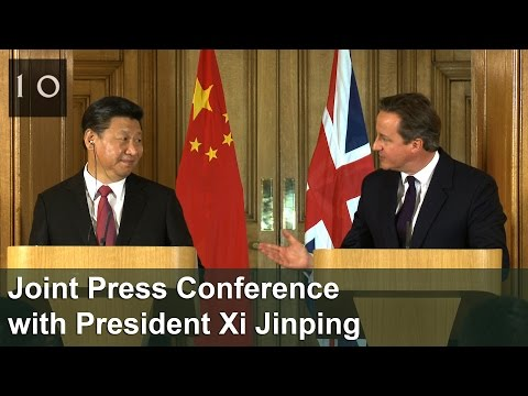 Joint Press Conference with President Xi Jinping
