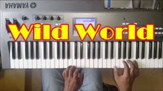 Wild World Piano Cover - Instrumental - Cat Stevens - Maxi Priest