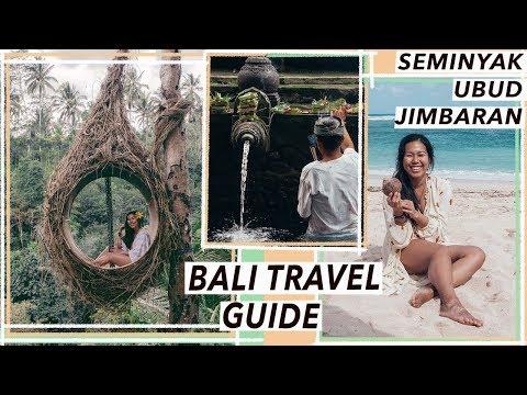 Bali Travel Guide -Things To Do In a Week: Ubud, Seminyak and Jimbaran | Bali Travel Vlog