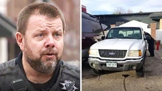 Cop Tows Broken Truck Where Homeless Couple Lives, When They Asked For It Back He Did This..
