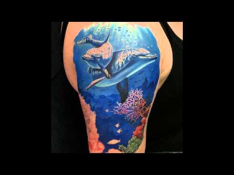 Incredible Dolphin Tattoos