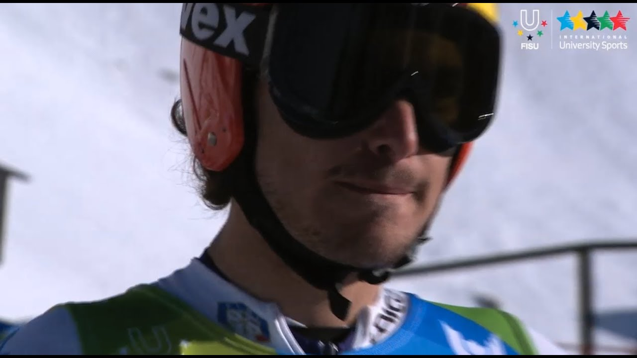 Alpine Skiing Men's Super G - Winter Universiade Trentino 2013