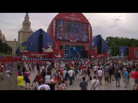 England v Panama: Fans gather  panama