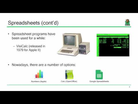 ENGR 111 Lecture 08:  Microsoft Excel 1 (2017.02.02)