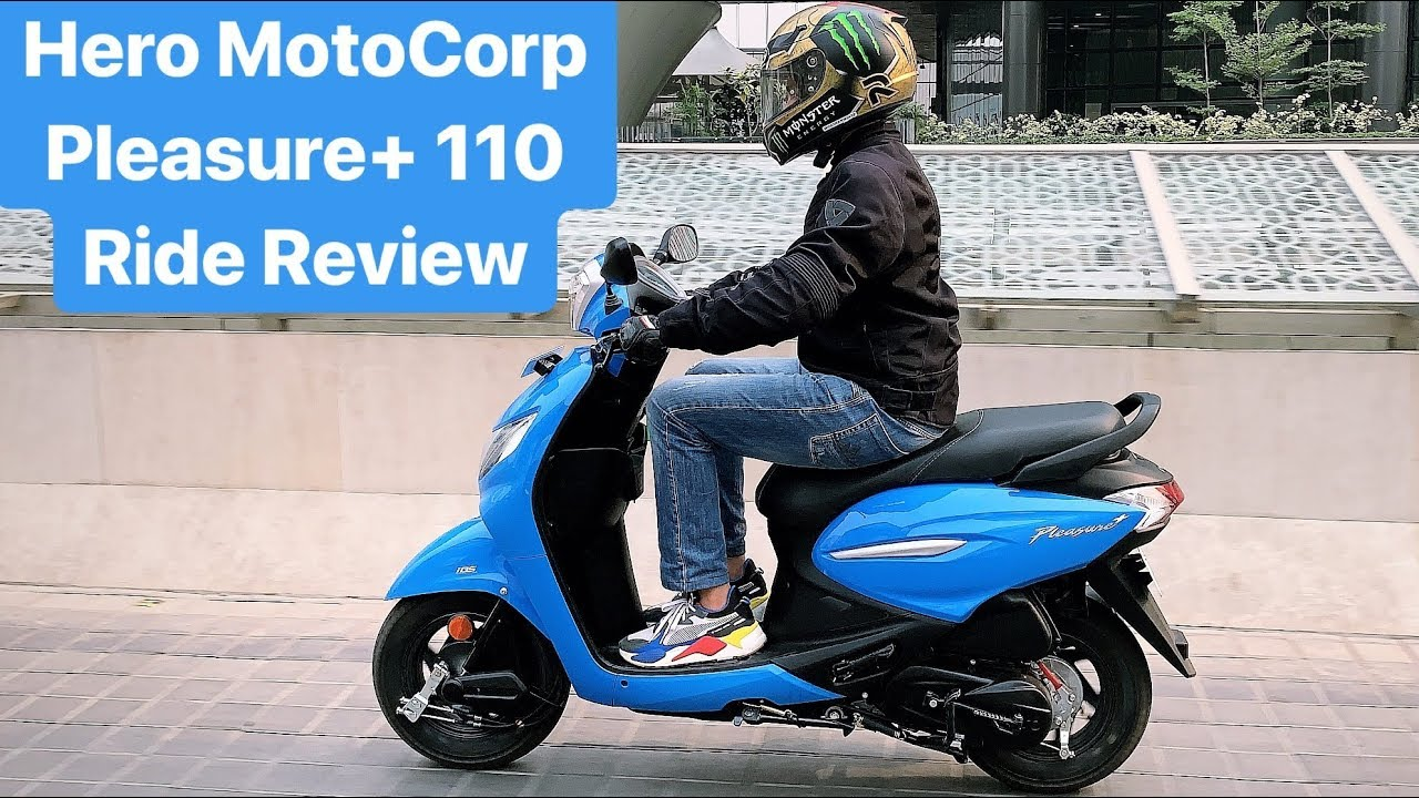 2019 Hero MotoCorp Pleasure+ 110 Ride Review (Hindi + English)