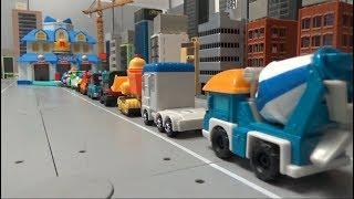 로보카폴리 10대 자동차 구조본부 출동 장난감 놀이 R…