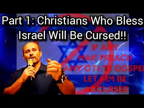 Christians Supporting Israel Will Be CURSED Pt 1 New Testament Scriptures Pastor Eric Collins WATCH!