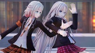 Gambar cover 【MMD】「No title」 - IA, ONE (School Girl ver.) 【4K UHD】