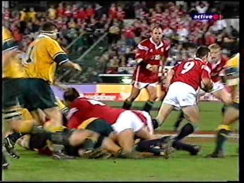 Lions 1st Test V Australia 30 June 2001 - The Gabba, Brisbane - Part 3