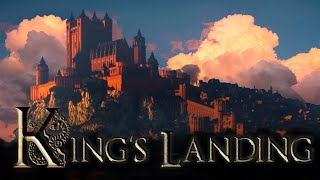 King's Landing from Game of Thrones made in Minecraft - Cinematic Tour
