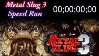 Metal Slug 3 Speed Run(24:58) Level-4 Time Attack / 메탈슬러그3 레벨4 타임어택 24분58초