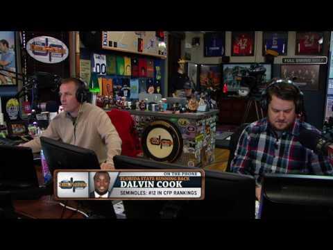 Dalvin Cook interviews Dan (12/1/16)
