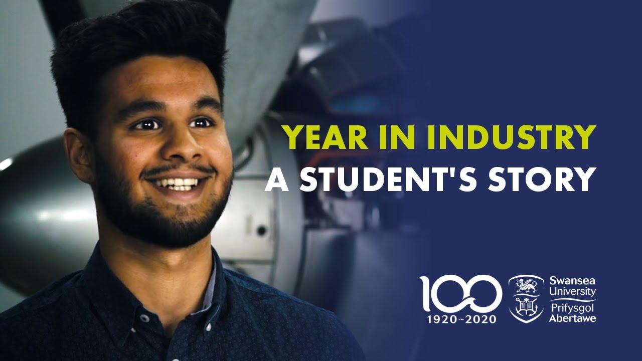 Adam Kidy - Rolls Royce - Year in Industry placement (Swansea University)