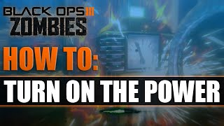 BO3 Zombies - How to turn on Power/Electricity in Shadow of Evil (Tutorial)