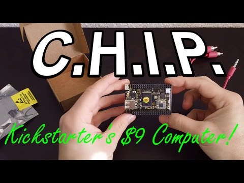 C.H.I.P. - The $9 Microcomputer from Kickstarter!