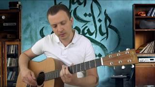 Лейла НА ОДНОЙ СТРУНЕ как играть мелодию к песне Jah Khalib - Лейла