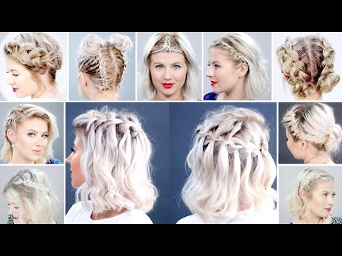 Top 15 Braided Short Hairstyles