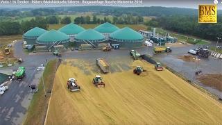 FENDT 1050 Vario  vs. Fendt 939 XXXL Biogasanlage Maisernte Maishäckseln Maize harvest Mais