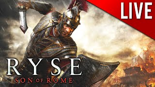 WHEN IN ROME, STAB SOMETHING!!! - Ryse: Son of Rome LIVE Play 3 (PC) (Livestream)
