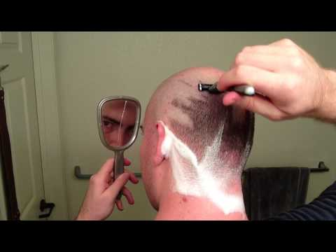 How I Shave My Head With a Mach 3