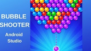 Bubble Shooter game with Admob using Android Studio DEMO screenshot 4