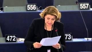 Intervento in aula di Caterina Chinnici sulle garanzie procedurali per minorinei procedimenti penali