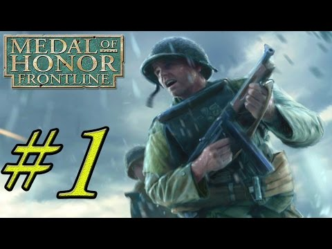 Medal of Honor Frontline Gameplay Walkthrough Part 1 - Normandy Landings